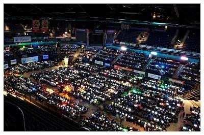Valeurs du sport électronique : Lan Party en FIinlande