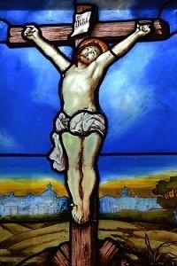 Testament olographe et nouveau testament, le christ sur la croix.