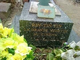 Tombe de Rin Tin Tin