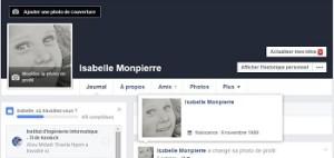Ressources web : compte Facebook