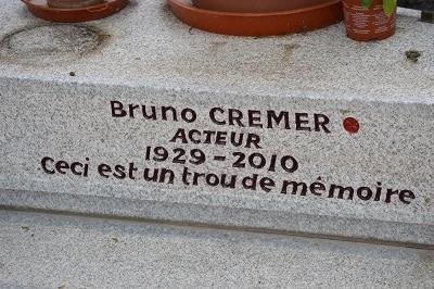 Epitaphe - Epitaphe de Bruno Cremer