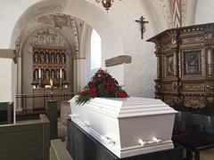 Enterrement Cercueil