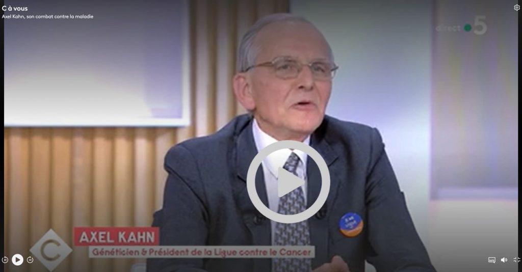 Axel Khan et la fin de vie sur France 5