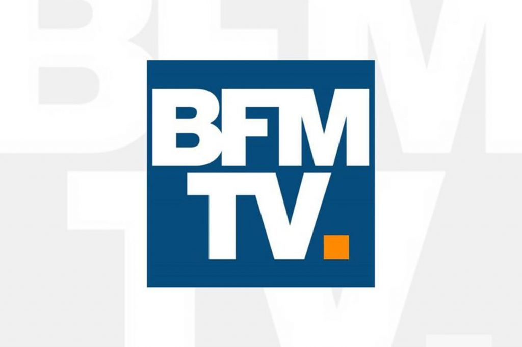 logo BFM TV new