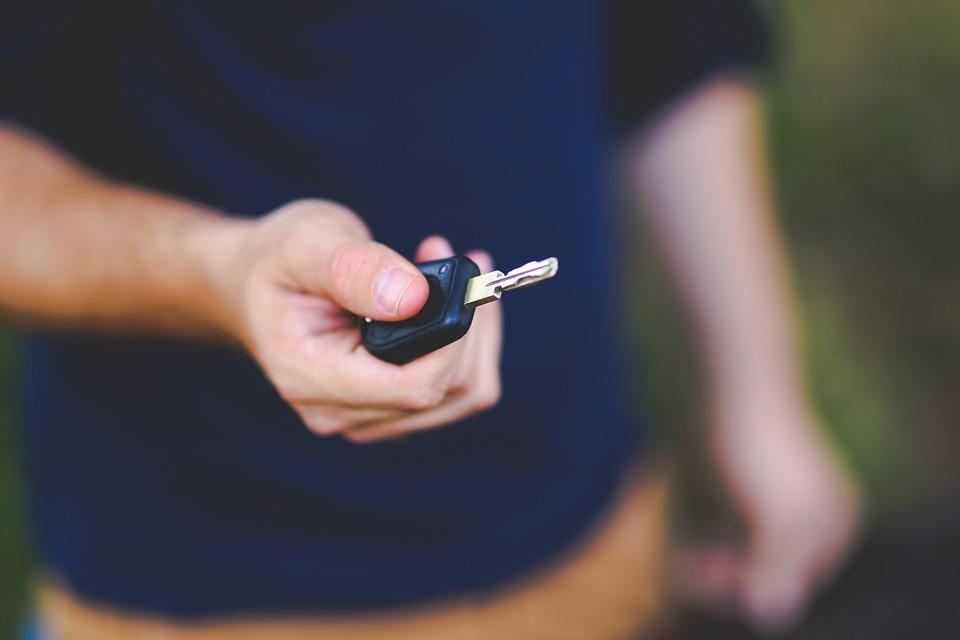 illustration clé de voiture