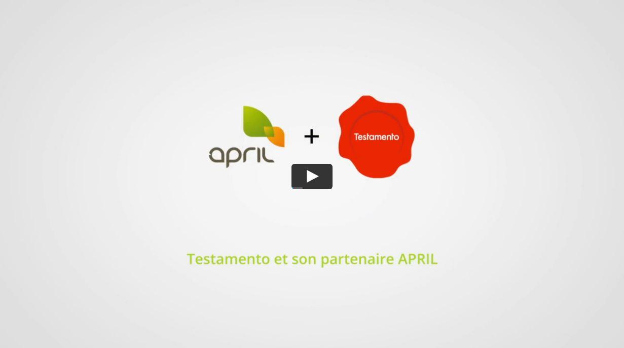April et Testamento annoncent un partenariat sur la gamme obsèques