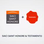 illustration partenariat Testamento et Siaci Saint Honoré