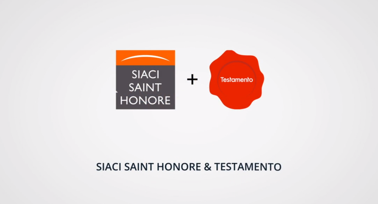 SIACI Saint Honoré étoffe ses offres de prévoyance santé, en partenariat avec Testamento
