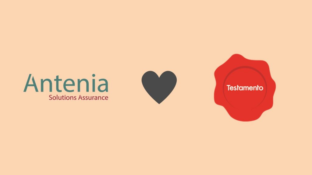 Antenia rejoint le Testamento Partner Program