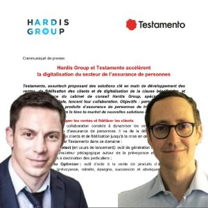 Partenariat Hardis Group – Testamento
